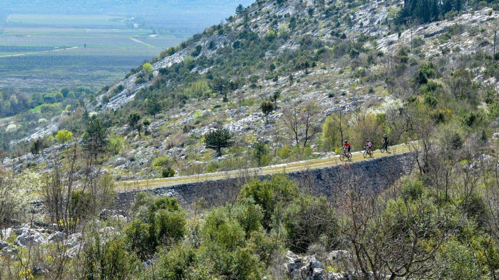 La imponente ciclovía que une a Croacia con Bosnia-Herzegovina