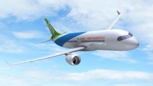 El avión de pasajeros chino voló por primera vez y se enfrenta a Boeing y Airbus