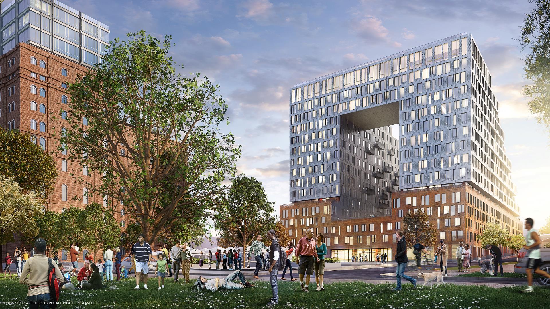 De los mismos arquitectos detrás del High Line, este será el nuevo parque de Nueva York