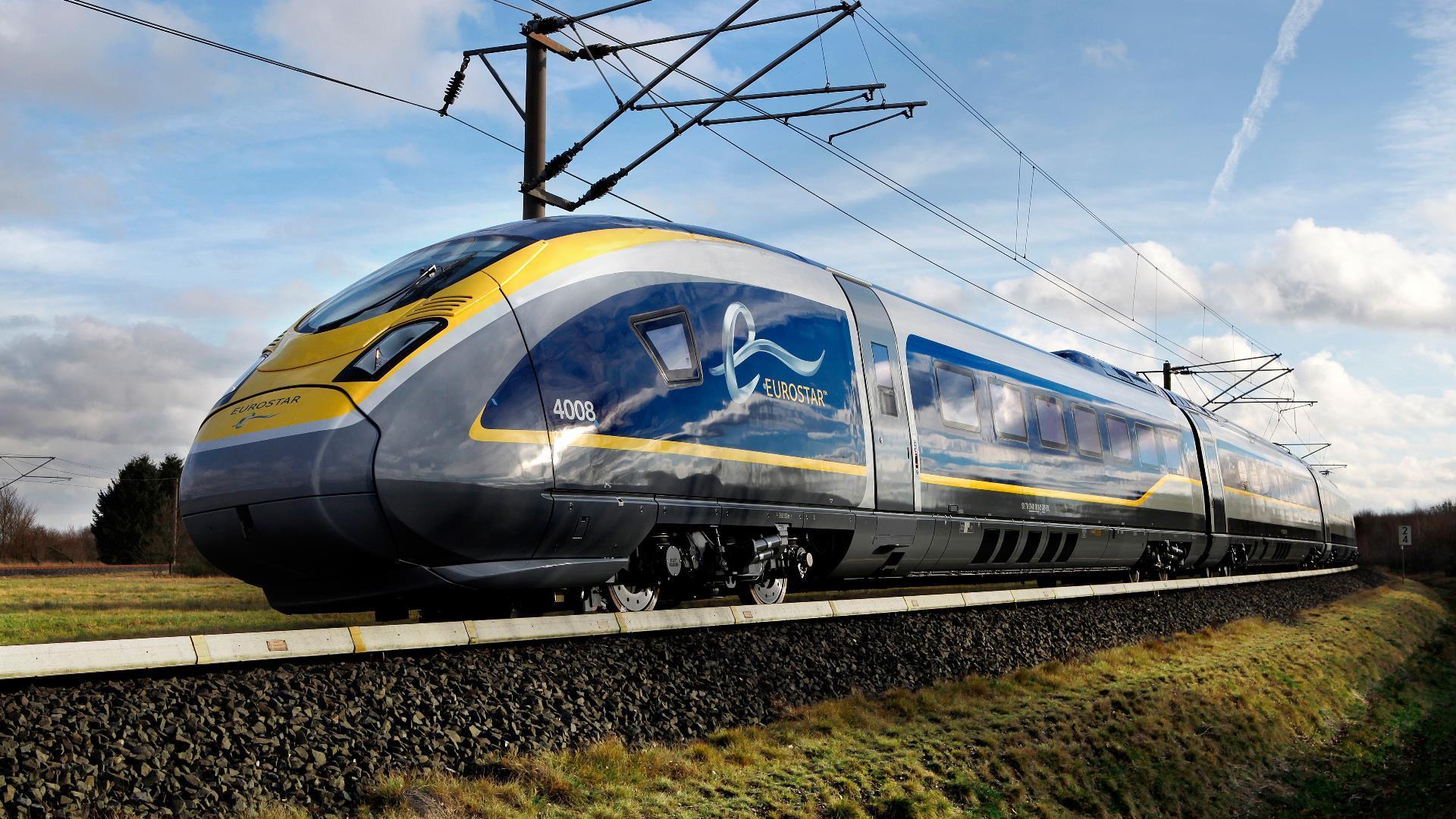 Eurostar lanza su nuevo tren de alta velocidad que unirá Londres con Ámsterdam