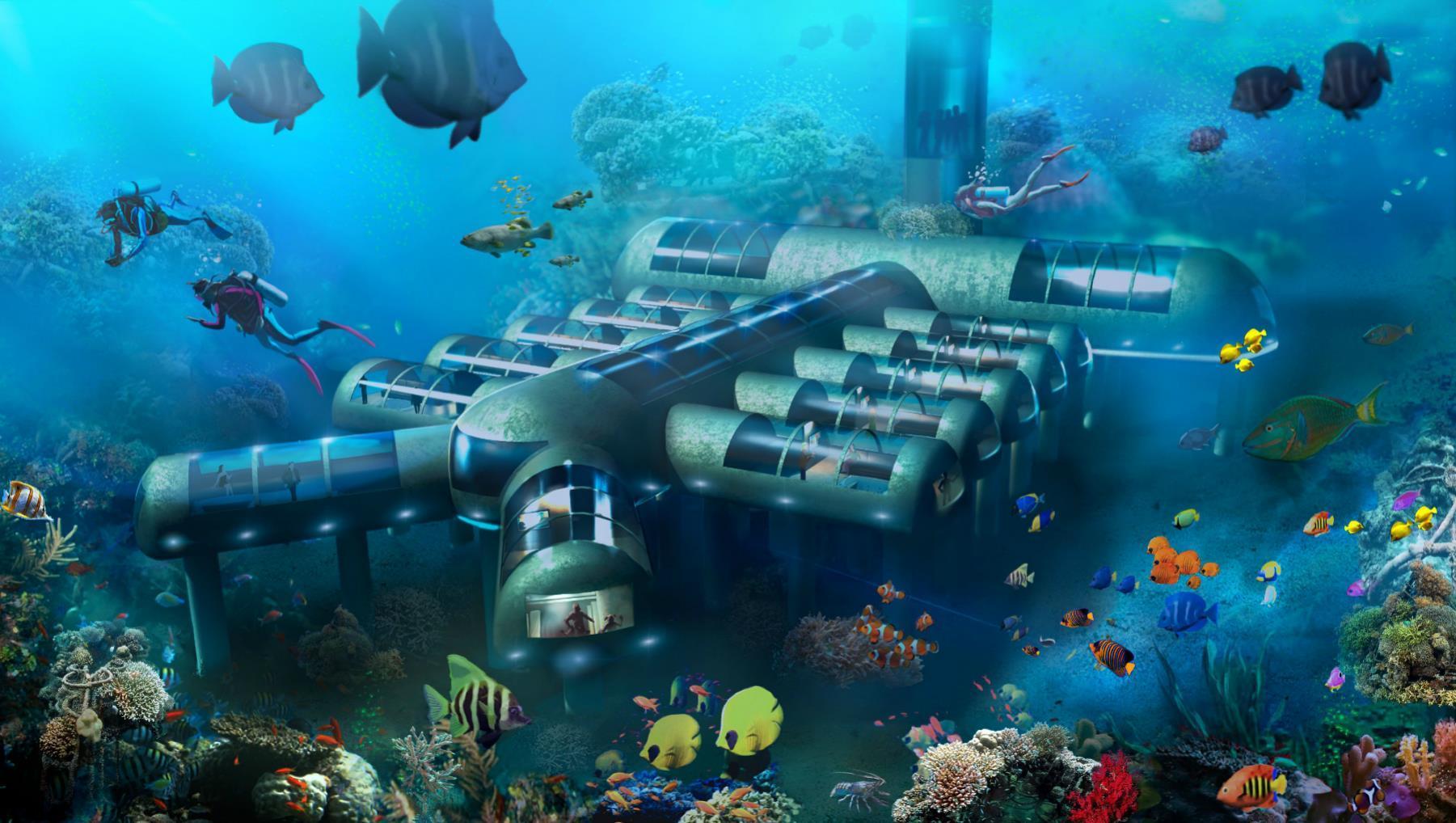 Los hoteles subacuáticos, la nueva tendencia en alojamiento