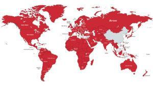 Este mapa nos muestra cuáles son las series favoritas de Netflix en cada país del mundo