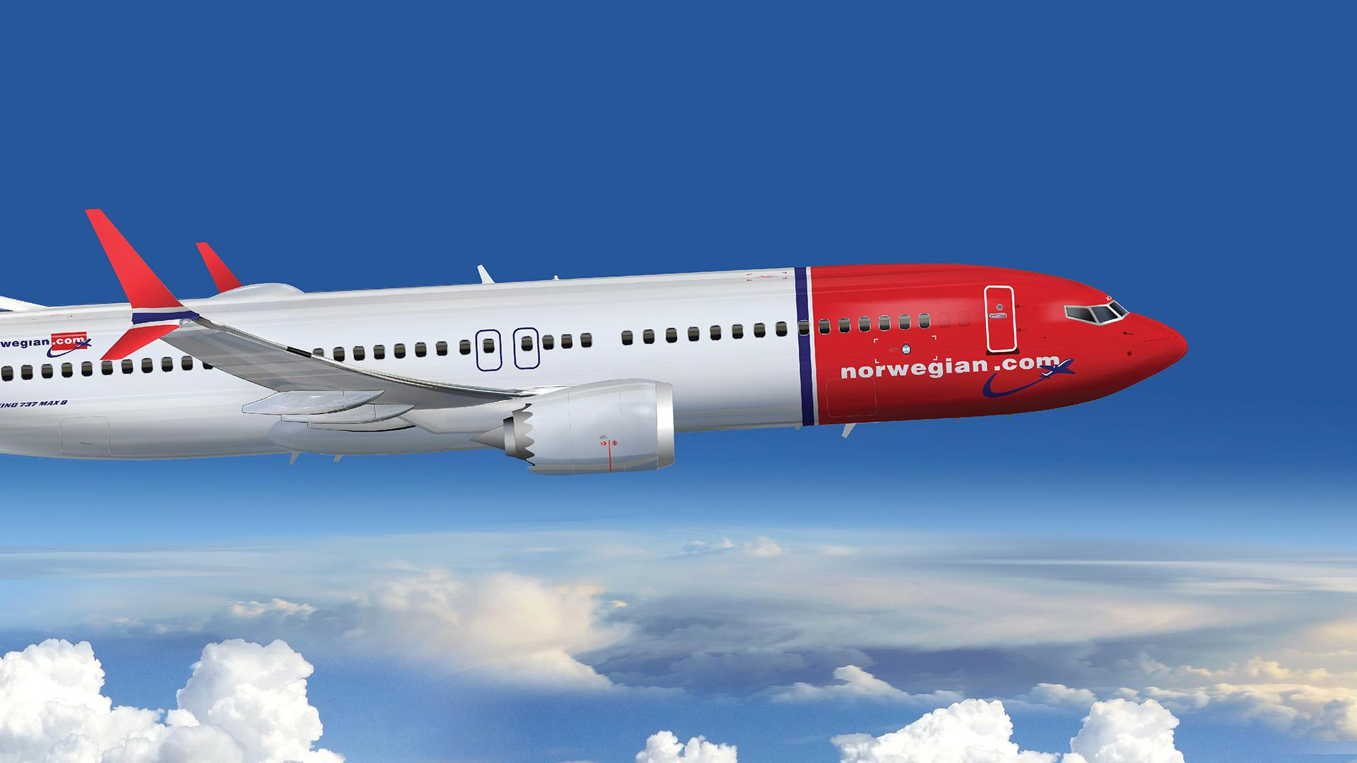 Se confirmó que la línea aérea low cost Norwegian volará desde Argentina