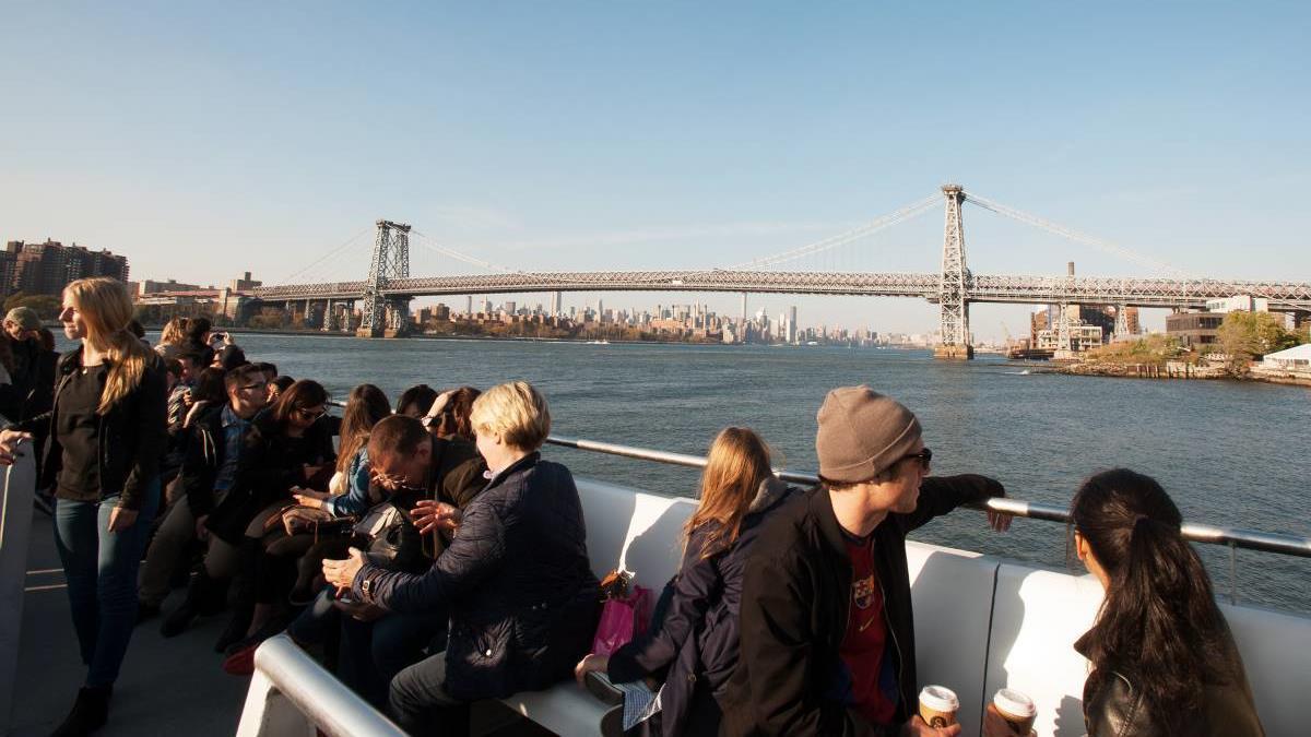 El nuevo Ferry de Nueva York es la forma más rápida de moverse en la ciudad