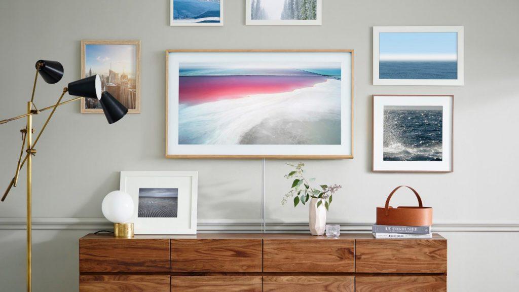 Frame TV: el televisor de Samsung que luce como un cuadro