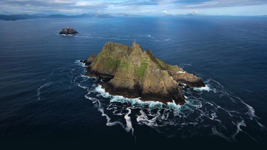 La isla irlandesa donde se filmó Star Wars está abierta a los visitantes