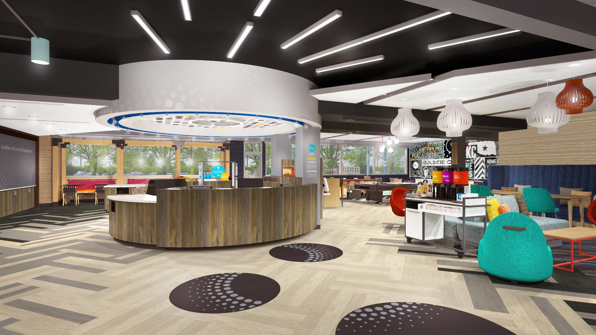 Tru es la nueva marca de Hilton y ya abrió su primer hotel