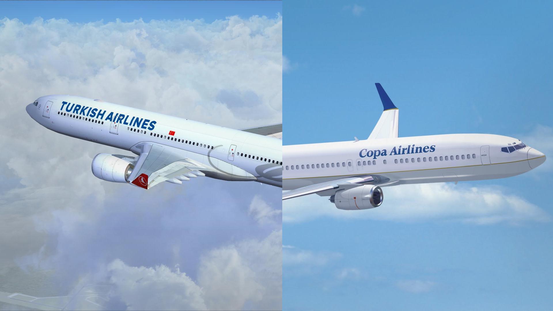 Copa Airlines y Turkish Airlines acuerdan vuelos en código compartido
