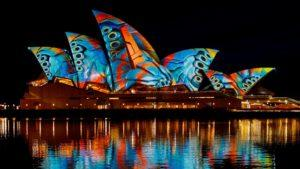 Comenzó Vivid Sydney 2017 y durante 23 días la ciudad brilla a todo color