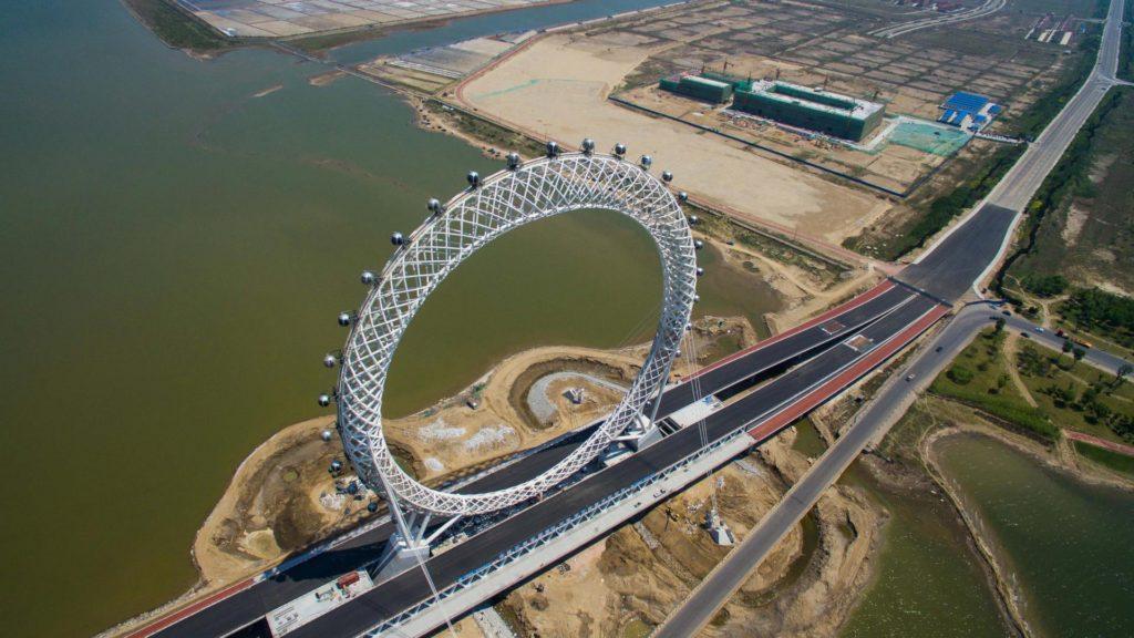 La sorprendente vuelta al mundo que inaugura en China