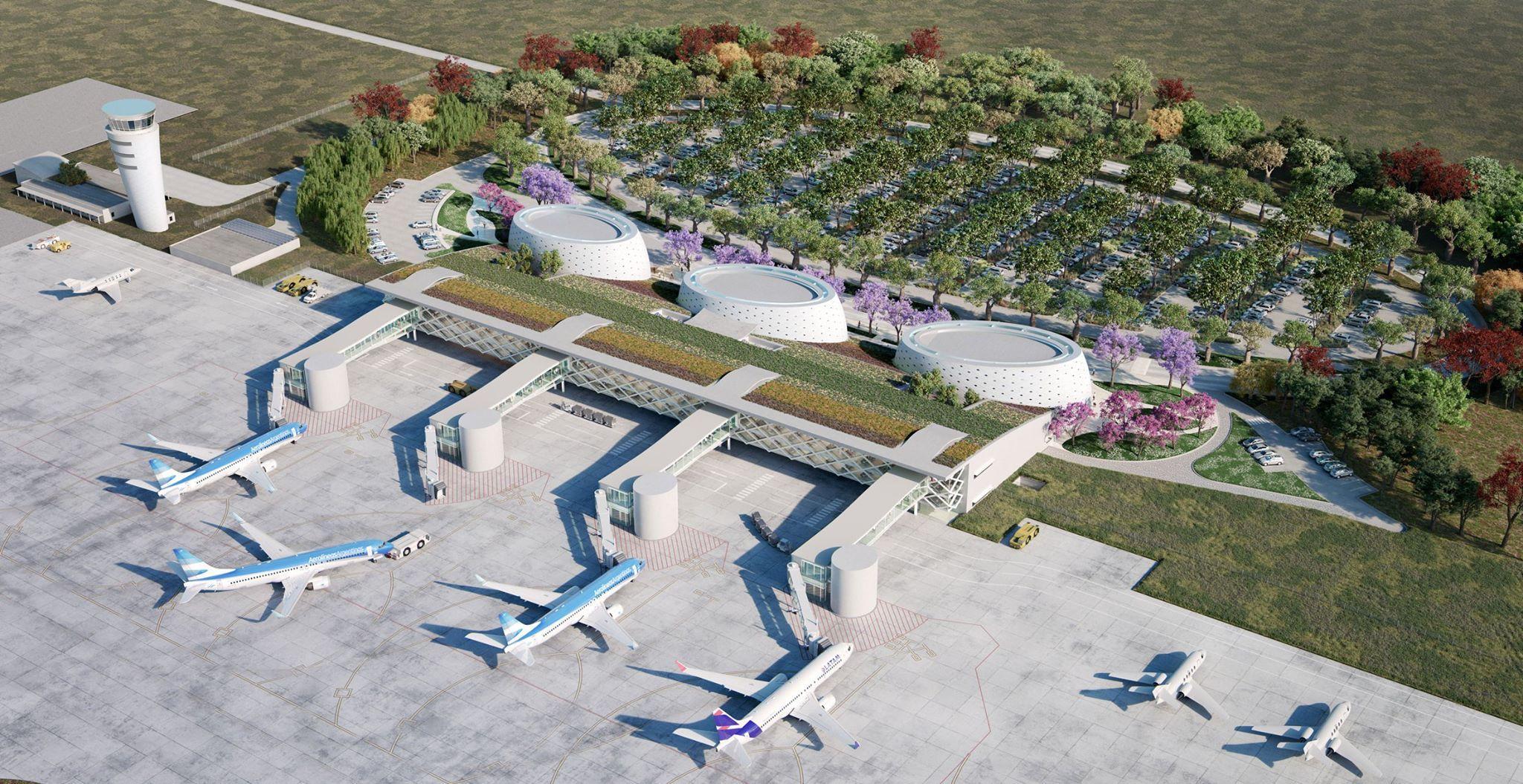 Tucumán tendrá el aeropuerto más lindo y verde de Argentina, diseñado por César Pelli