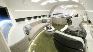 [Imágenes] Este es el nuevo Airbus de lujo: tiene capacidad para 25 pasajeros