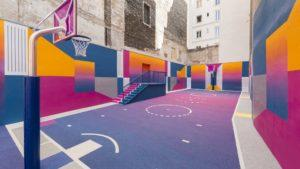 [Imágenes] Esta es la cancha de básquet más original del mundo: una sorpresa más para visitar en París