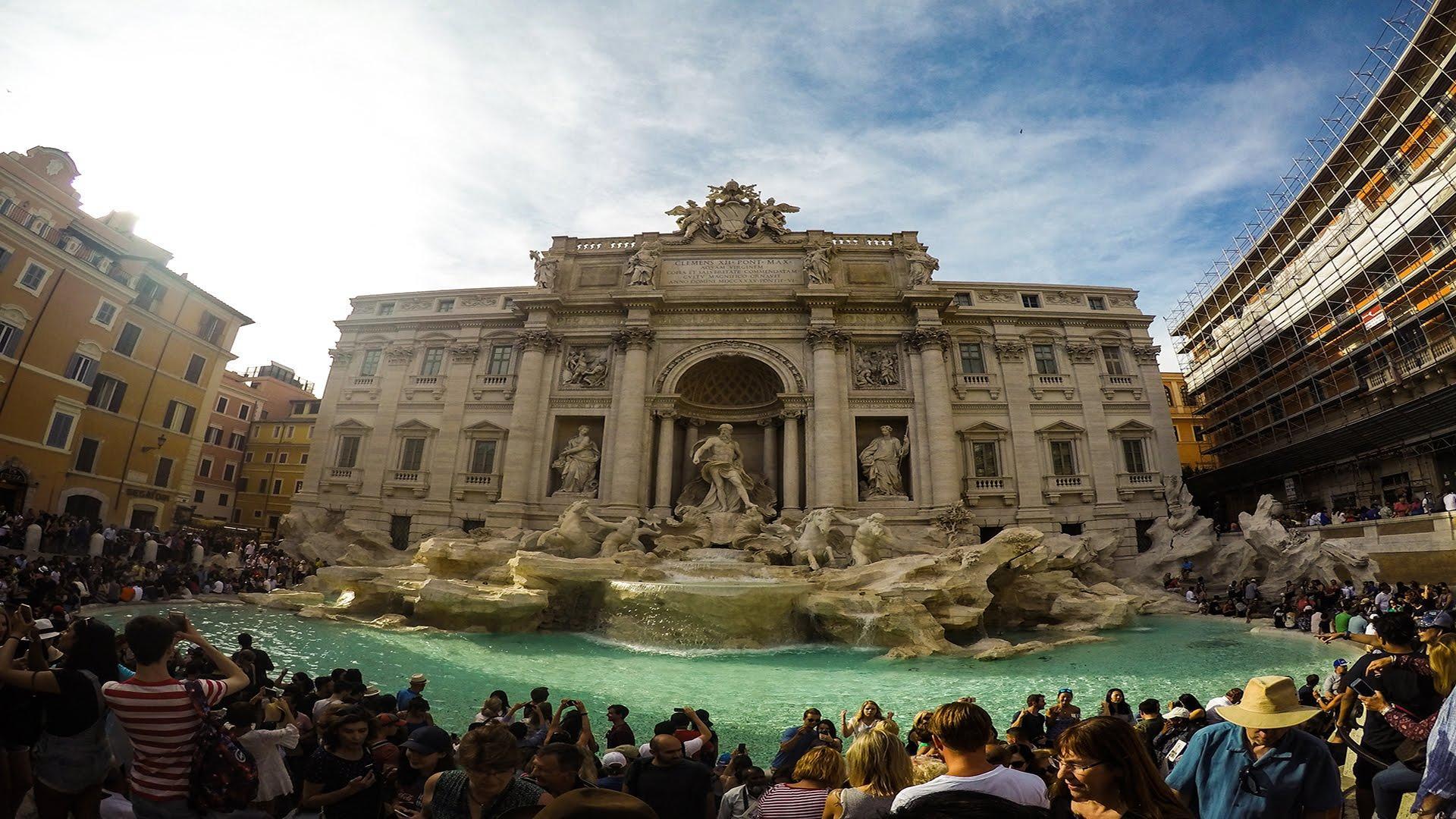 Roma quiere quedarse con el dinero arrojado a la Fontana di Trevi