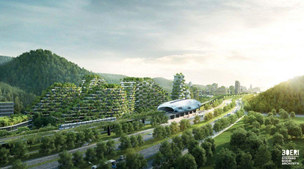 Forest City: la ciudad que se levantará en China con 1 millón de plantas