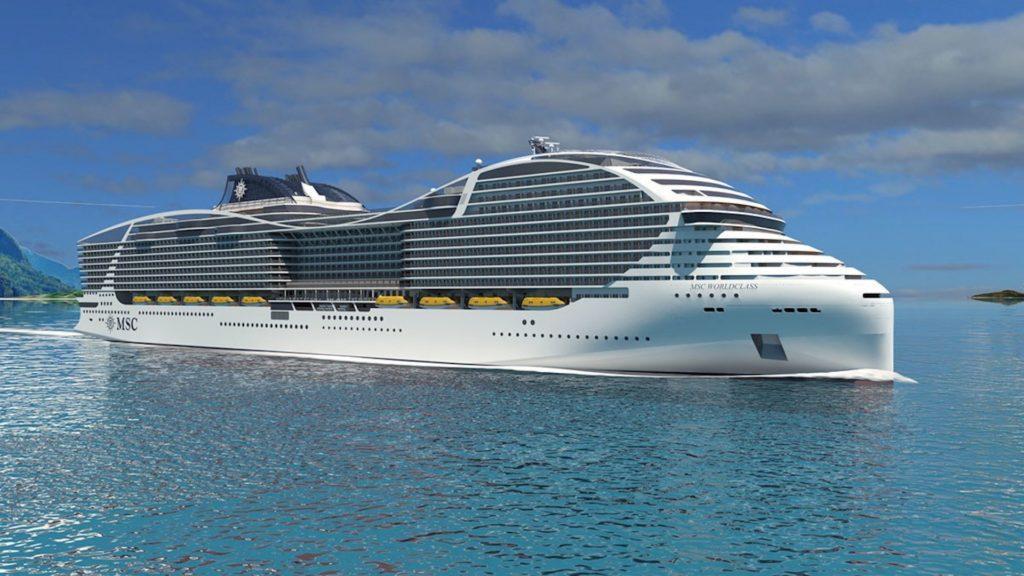 MSC presentó el crucero más grande del mundo: tiene el tamaño de tres campos de fútbol