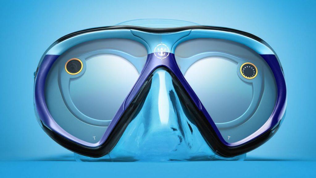 Royal Caribbean y Snapchat se unen para crear los lentes inteligentes bajo el agua