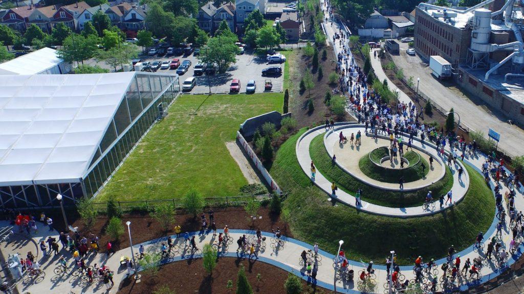 [Video] Este es The 606 Park: al igual que Nueva York con su High Line, Chicago tiene el suyo