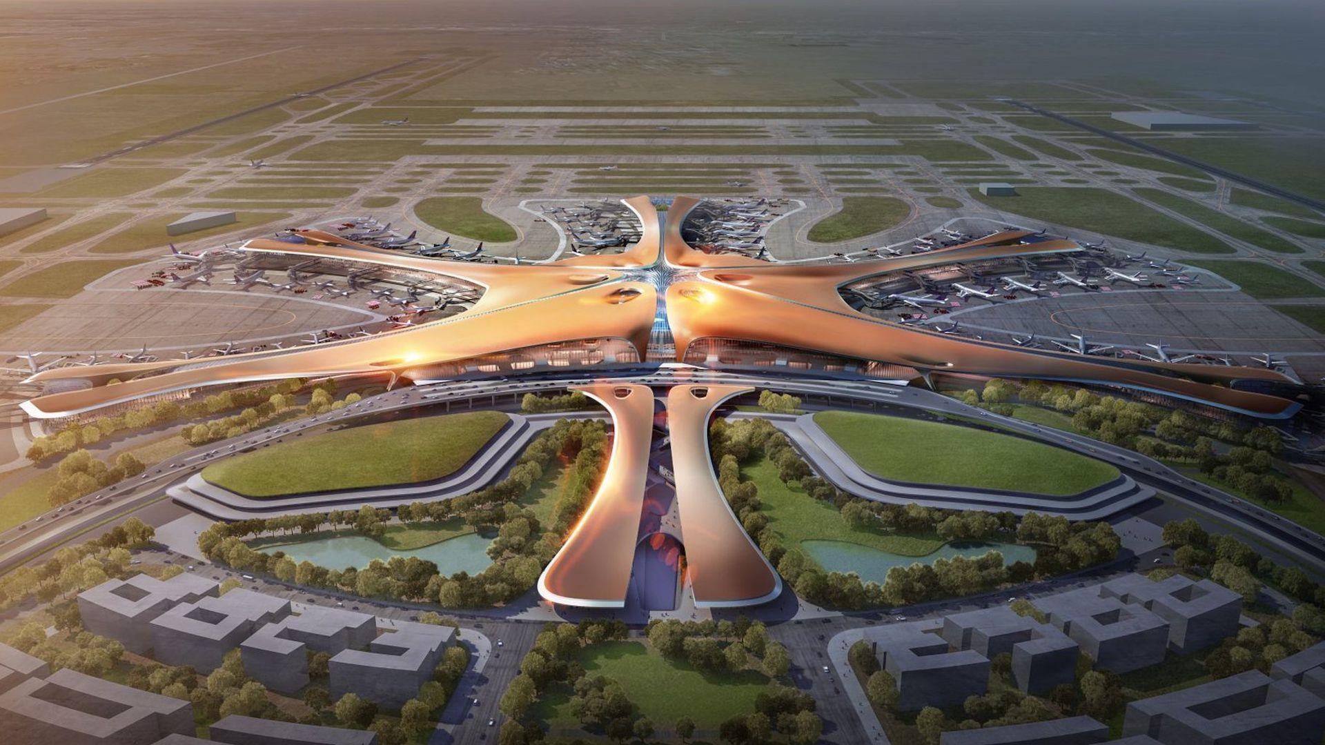 Así será el aeropuerto más lindo del mundo