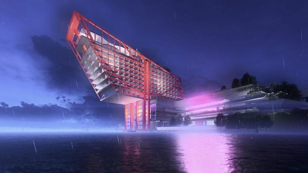 El original hotel que se construirá en un museo australiano