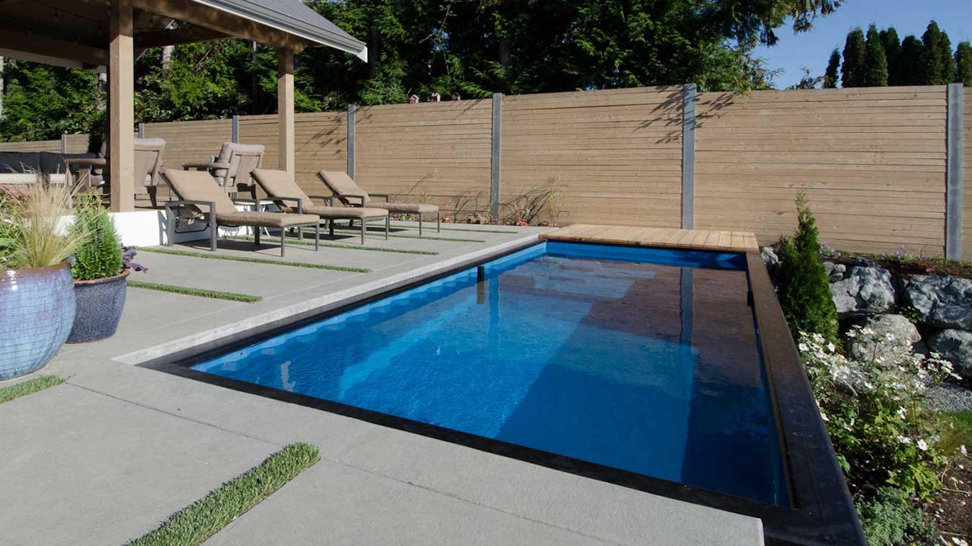 Imágenes] Las revolucionaras piscinas hechas con contenedores están ...