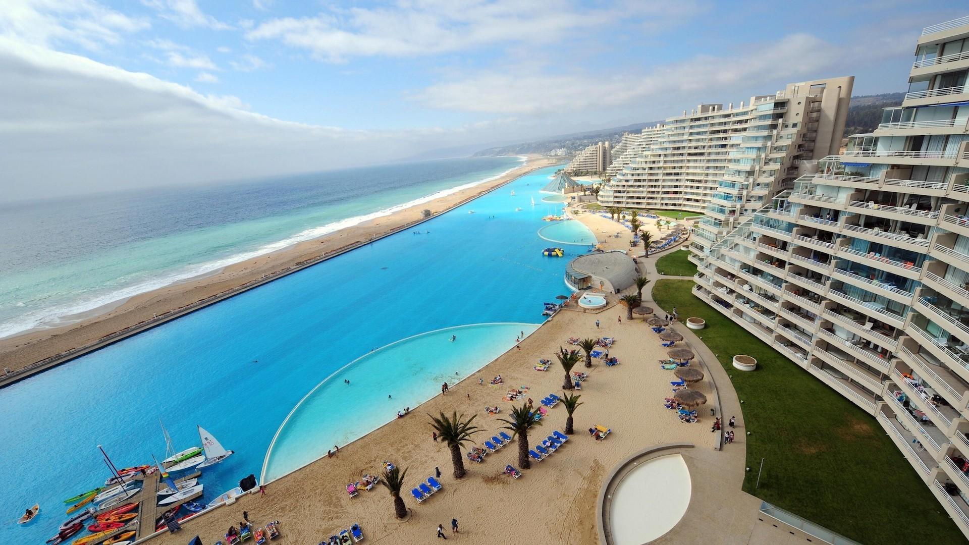 La piscina más sorprendente del mundo está en Latinoamérica
