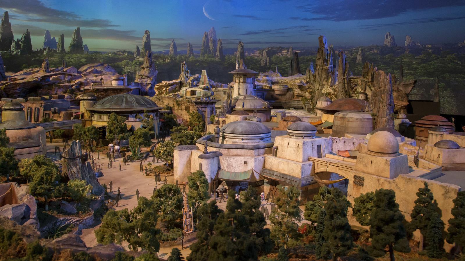 Así serán los parques de Star Wars en Disney