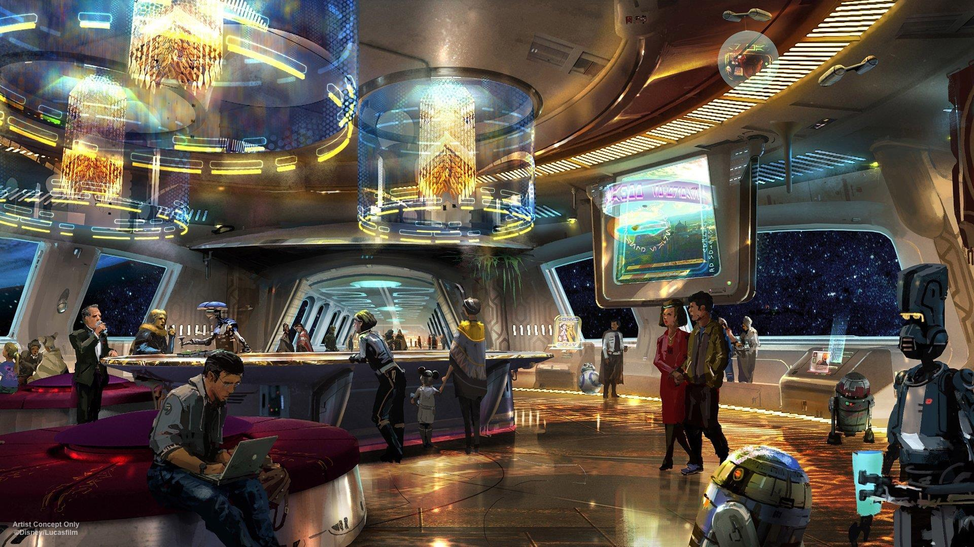 Disney abrirá un hotel de Star Wars en Orlando, y será fantástico