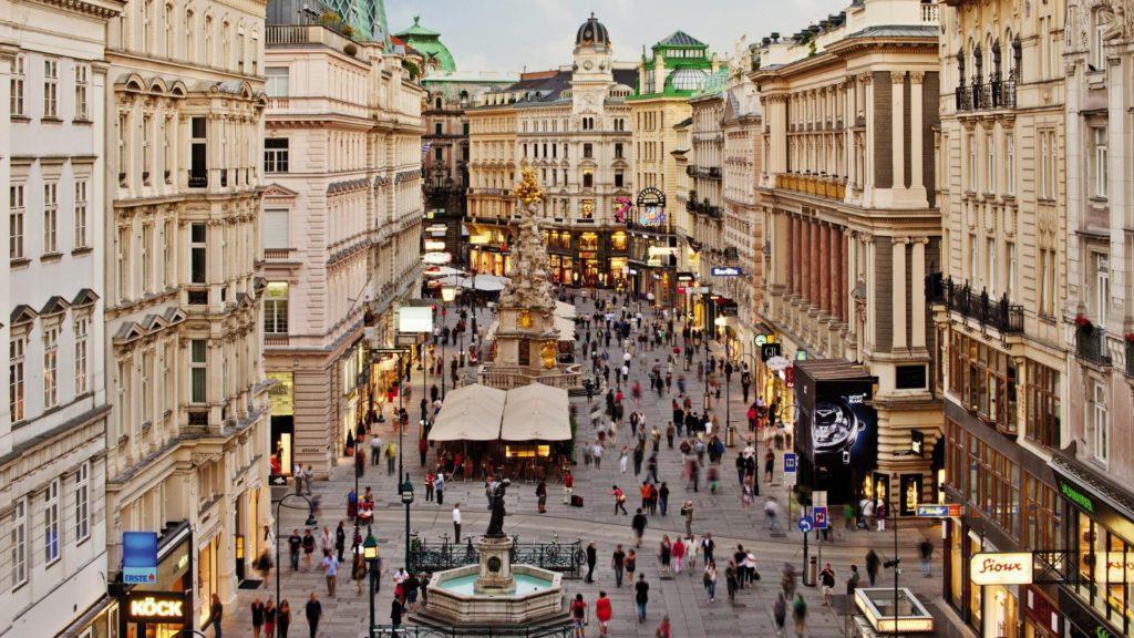 El boom de turistas en Viena
