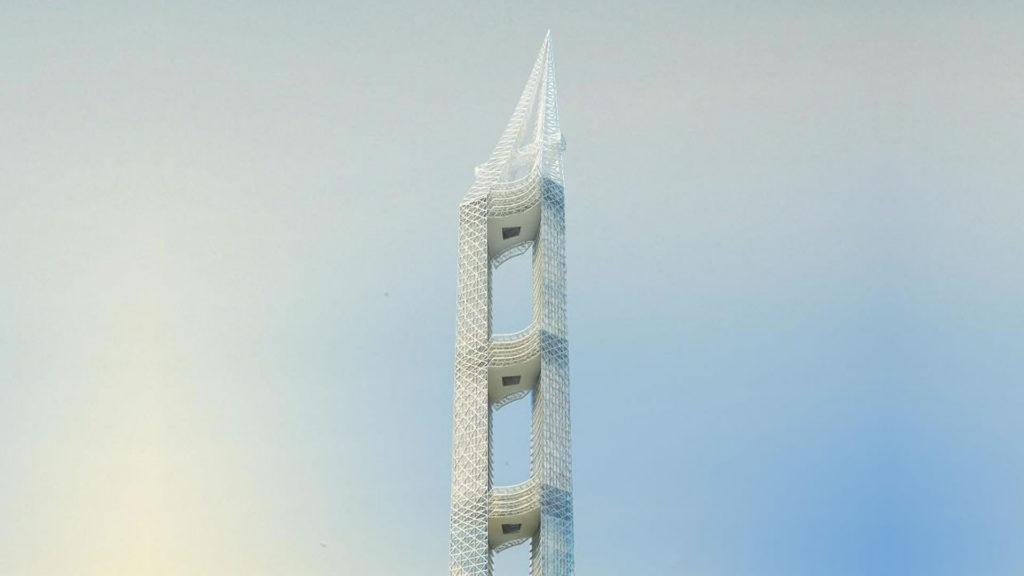 [Video] La sorprendente torre que se convertirá en la novena más alta del mundo