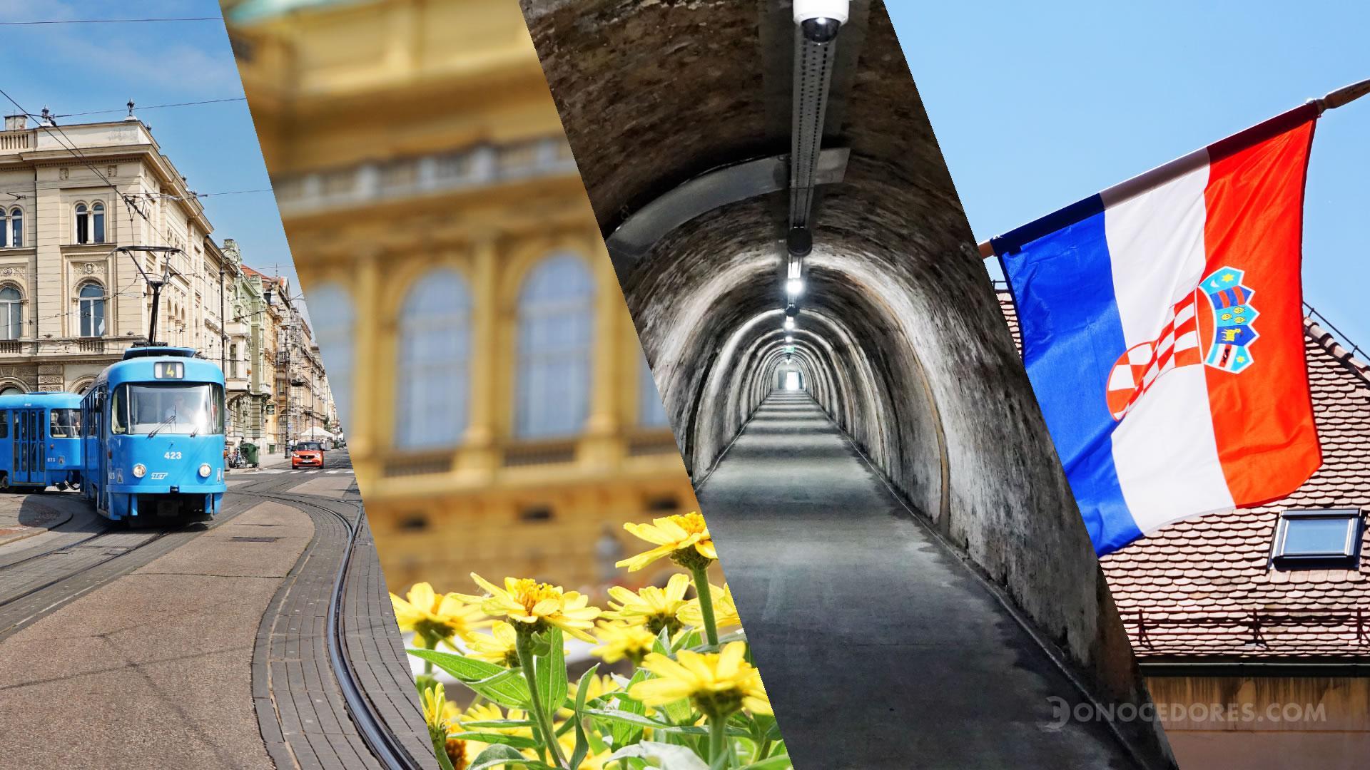 Así es Zagreb, la capital de Croacia: video e imágenes
