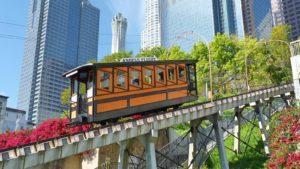 Reabre el famoso funicular de Los Ángeles