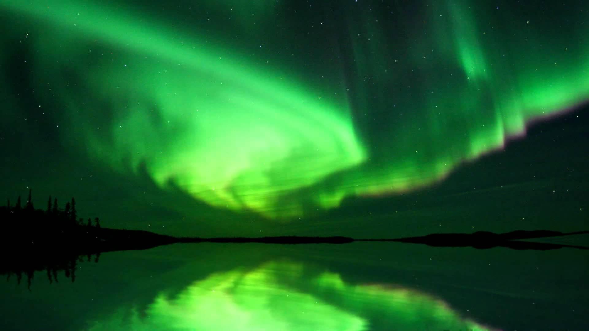 La aurora boreal desde el espacio se ve increíble: video