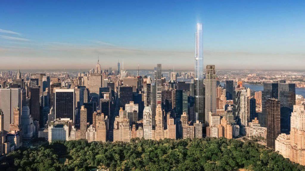 Este será el edificio de departamentos más alto del mundo: Central Park Tower Nueva York