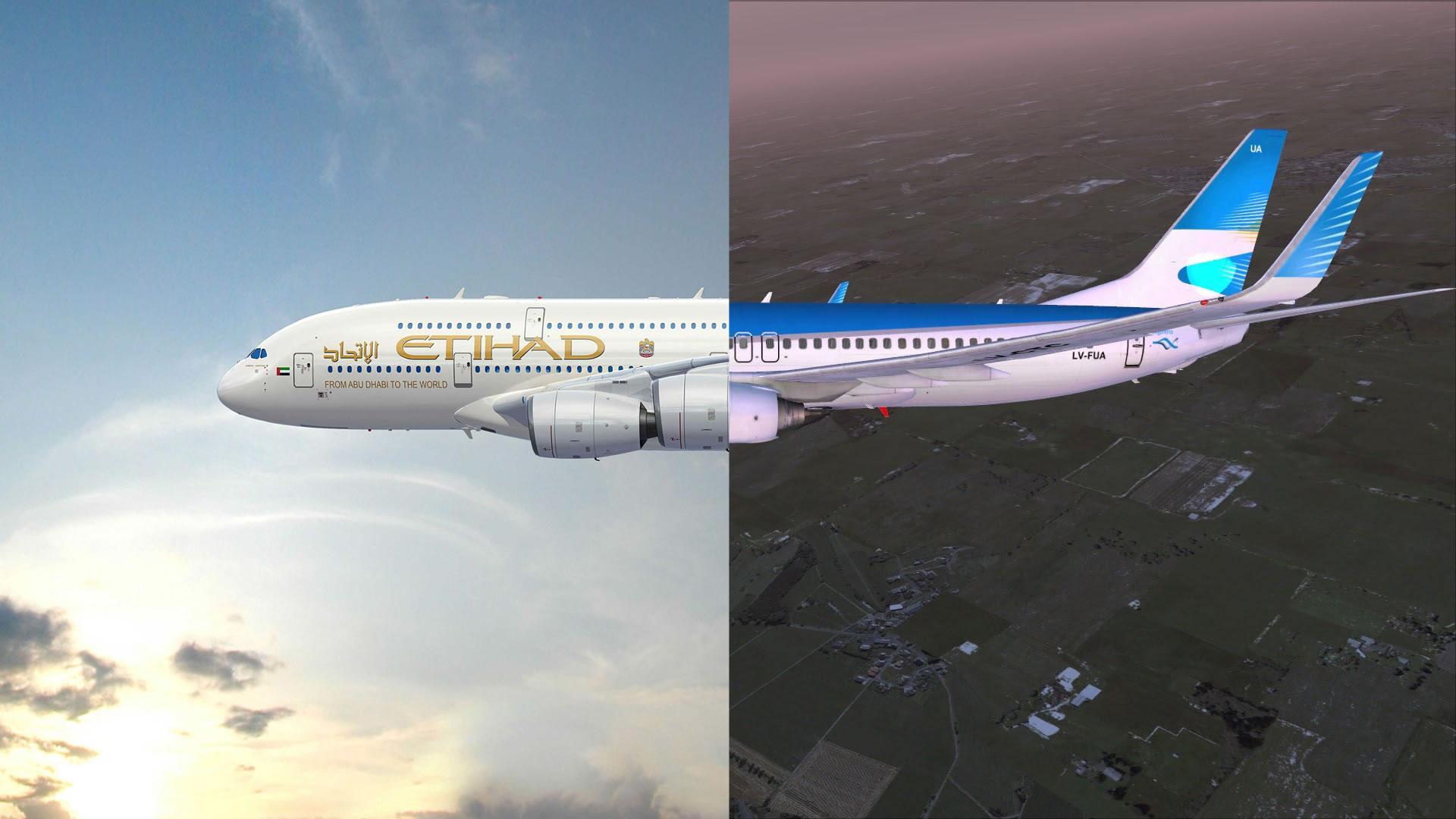 Aerolíneas Argentinas y Etihad anunciaron código compartido para unir Sudámerica con Medio Oriente