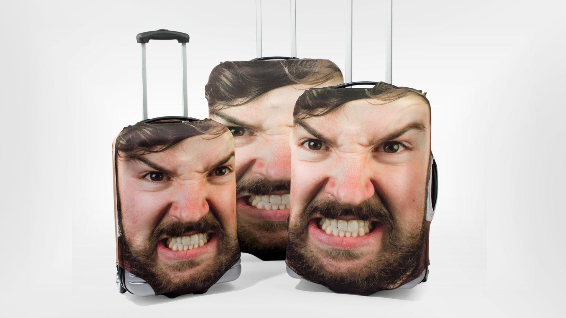 Podemos poner nuestra cara en el equipaje, y así nunca más perderlo