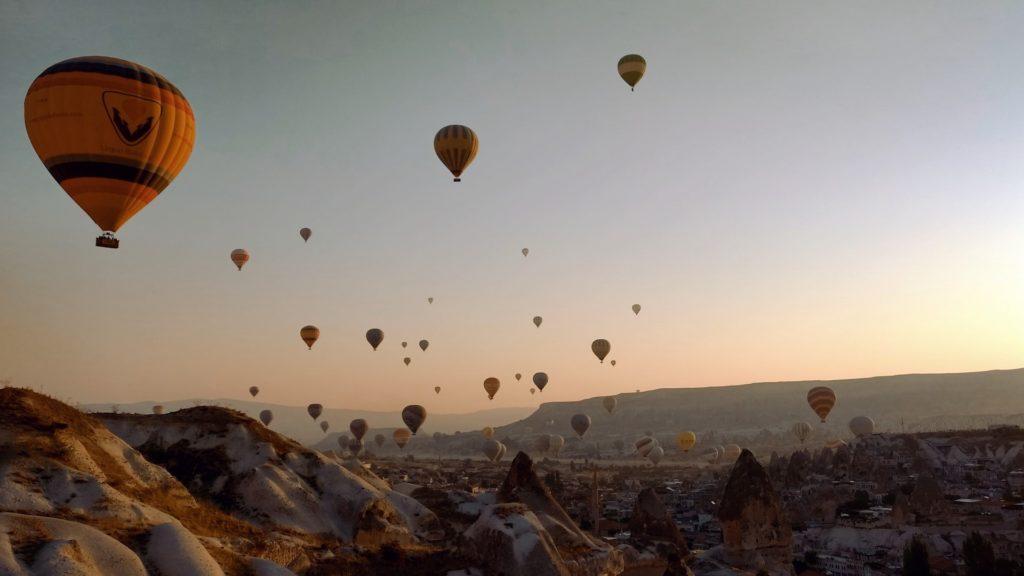 Paseos en globo por Capadocia, una experiencia única en Turquía: imágenes