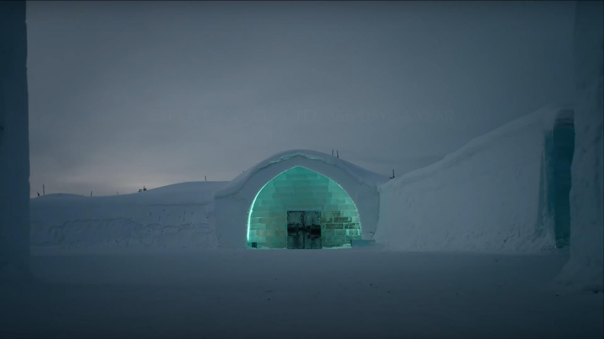 Así será el nuevo hotel de hielo de Suecia