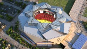 [Video] La ciudad de Atlanta suma uno de los estadios de fútbol más espectaculares del mundo (by Mercedes-Benz)