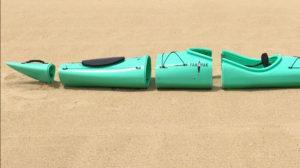 [Video] El kayak que se convierte en mochila es ideal para viajar