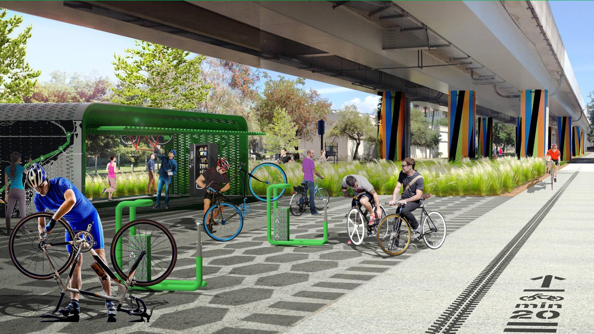 En 2020 inaugura Underline, el High Line de Miami: imágenes - 6