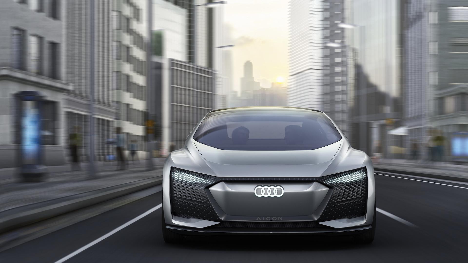[Imágenes] El impresionante nuevo Audi Aicon, autónomo, sin volante ni pedales