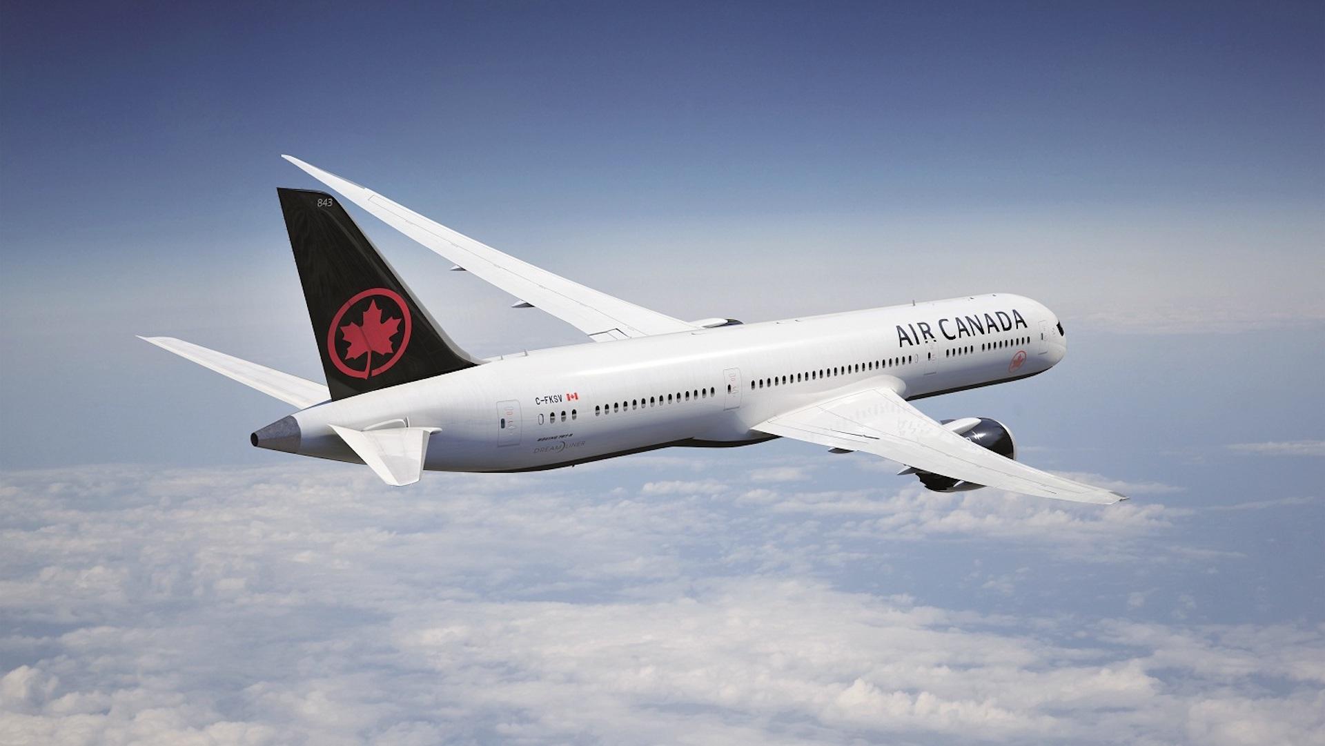 Air Canada comienza a ofrecer internet satelital de alta velocidad