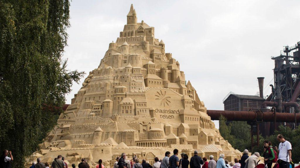 [Video] Este es el castillo de arena más grande del mundo