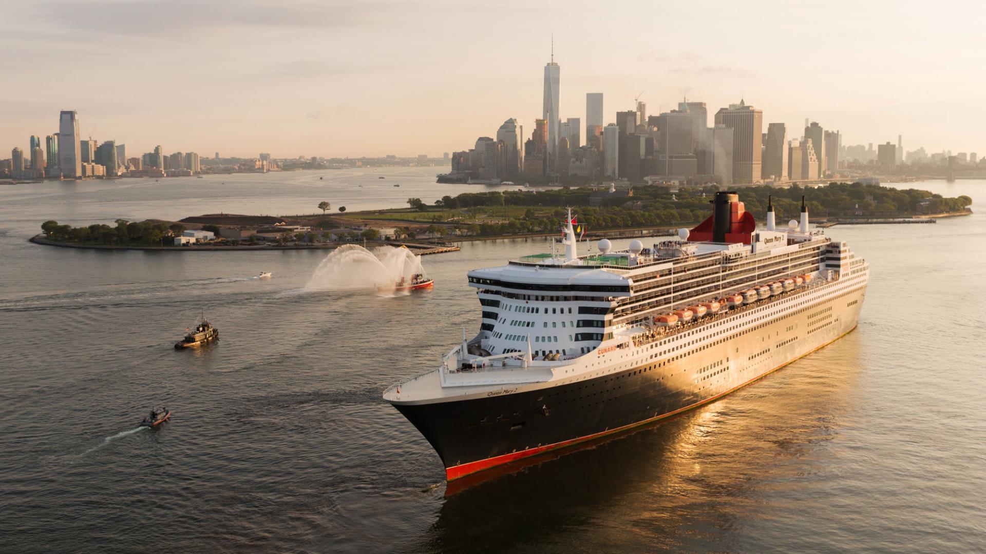 La icónica Cunard prepara su crucero más grande