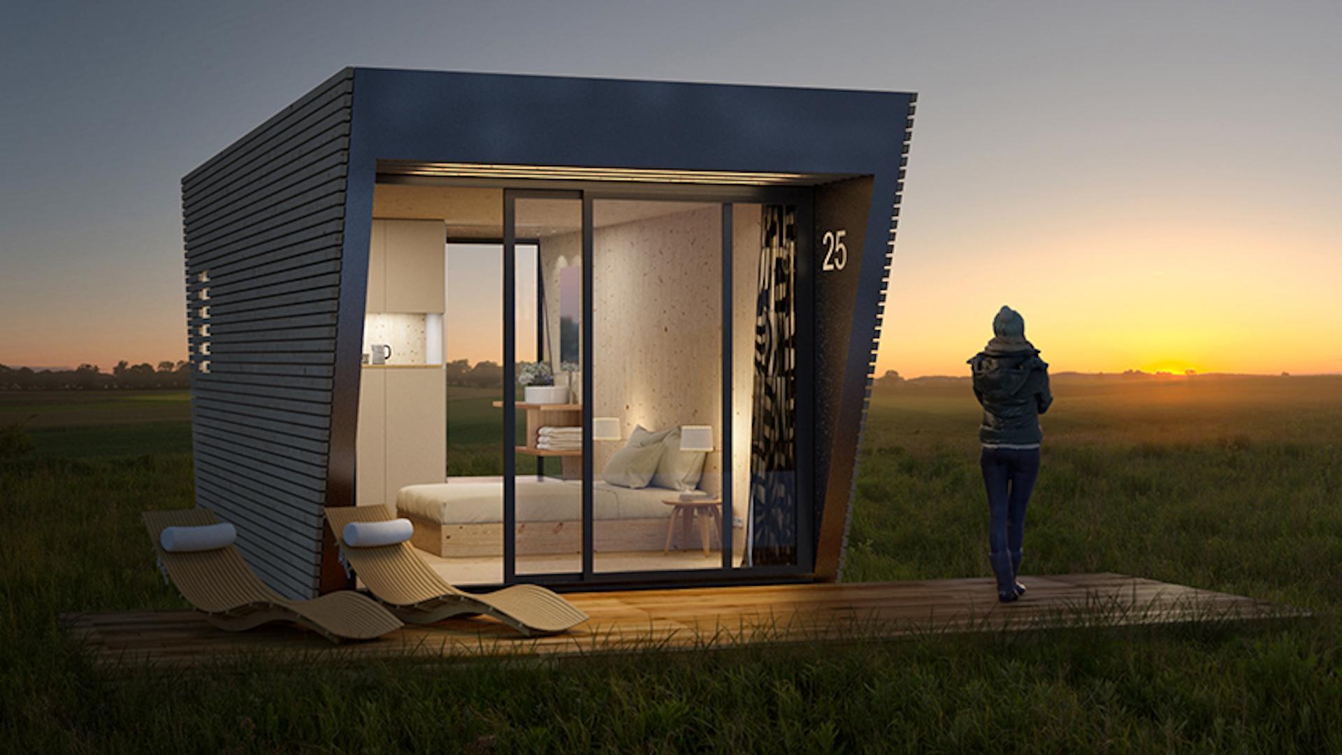 [Imágenes] Esta es la original y lujosa habitación de hotel «transportable» para destinos en plena naturaleza