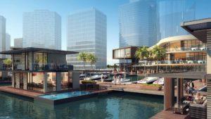 [Video] Dubái ya tiene su primera casa flotante y solo es el comienzo