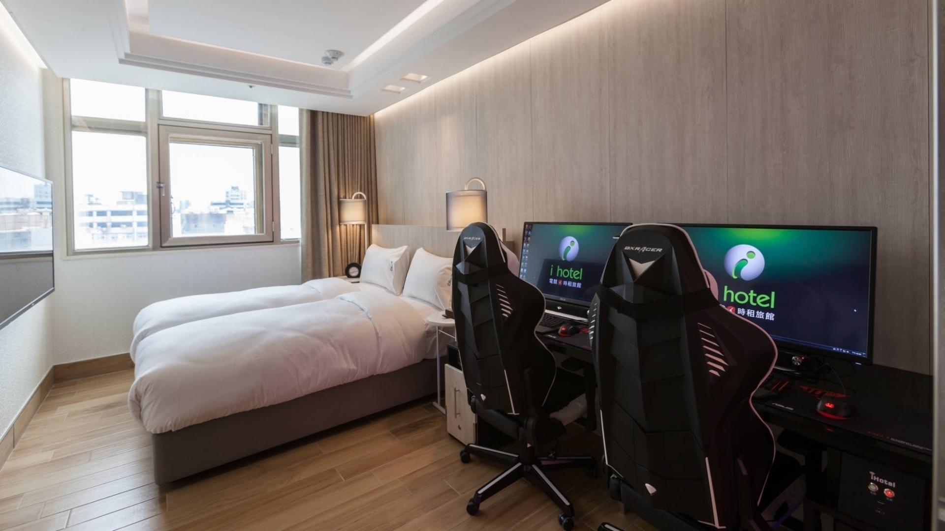 El hotel perfecto para gamers abrió en Taiwán