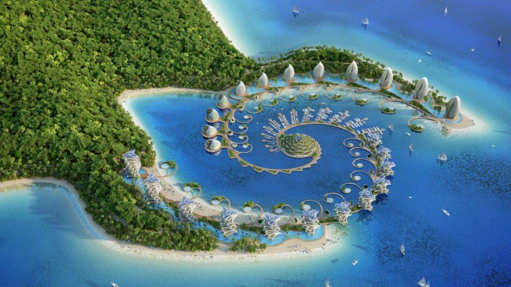 [Imágenes] El impresionante eco-resort proyectado para Filipinas