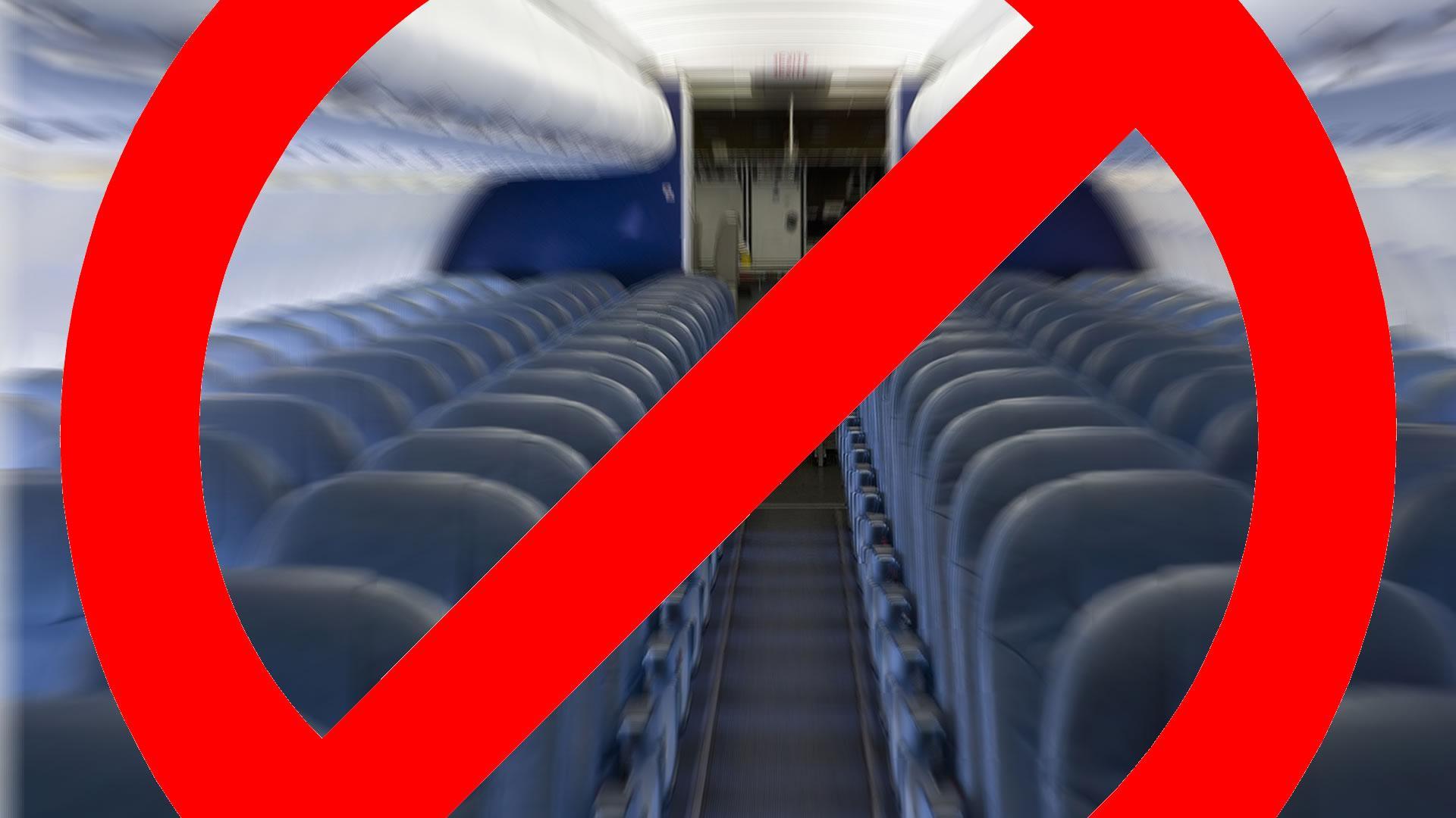 Lo que nunca deberíamos hacer en un avión: video